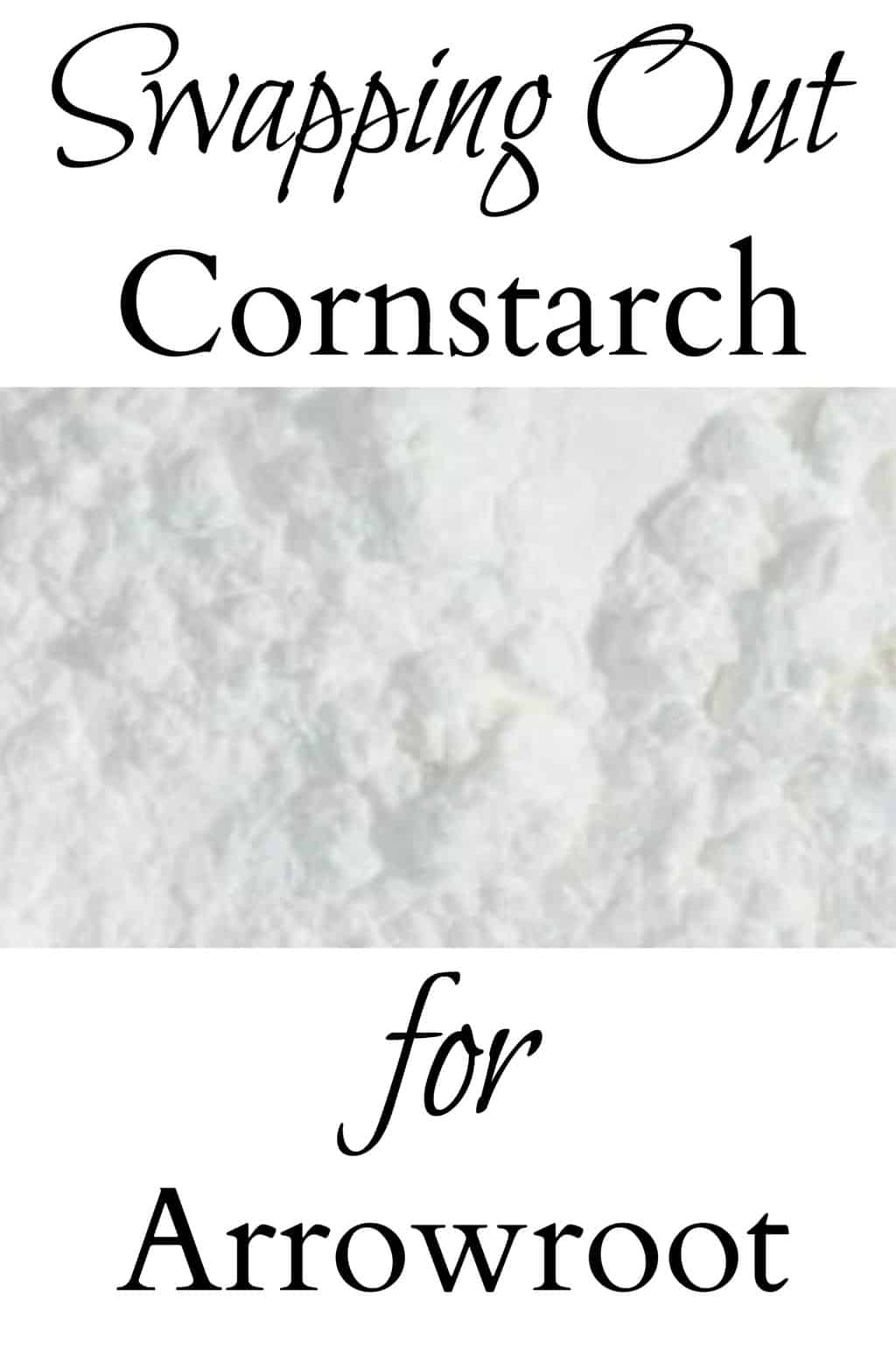 Swapping Out Cornstarch for Arrowroot - learn why you might want to ditch cornstarch and why arrowroot makes a great alternative