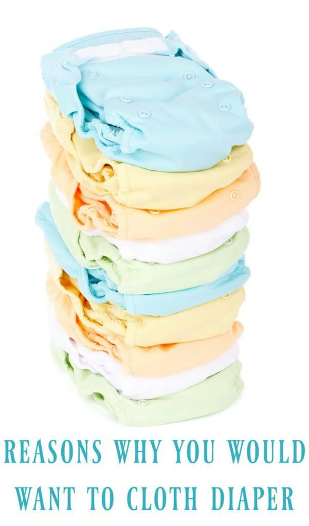 Why would anyone want to choose cloth diapers when we live in a day and age where we can just buy new diapers? Believe it or not there are quite a few reasons!