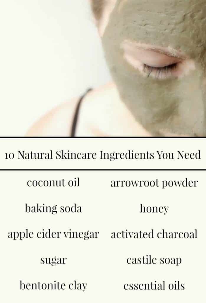 Here are 10 natural skincare ingredients you need. If I was to be honest, you could probably get away with just 3-5 of these but having all 10 is a great way to make sure that you will have all the basics for all your natural skincare needs!