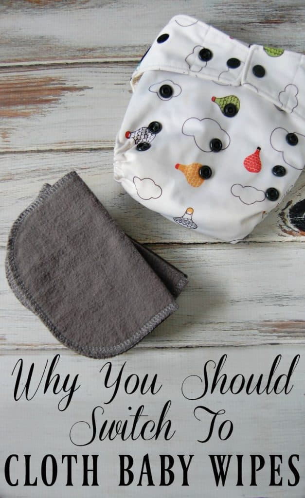 If you've decided to cloth diaper then you might want to think about using cloth baby wipes as well! It actually makes using cloth diapers even easier (no more accidentally laundering disposable baby wipes!) Learn all the benefits of using cloth wipes, how to use cloth wipes, and where to get them! #clothwipes #wipes #reusable #baby #greenbaby #zerowaste