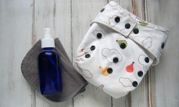Homemade Cloth Wipe Solution
