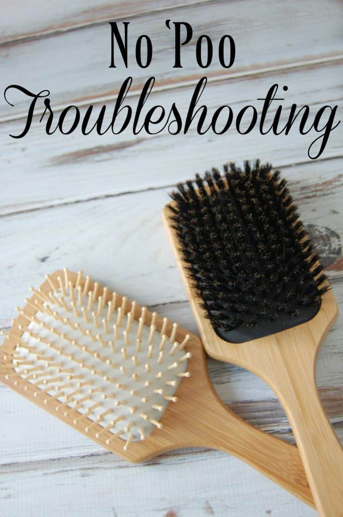 "Have you tired going ""no 'poo"" but you've got a few issues? Check out this no 'poo troubleshooting post!"