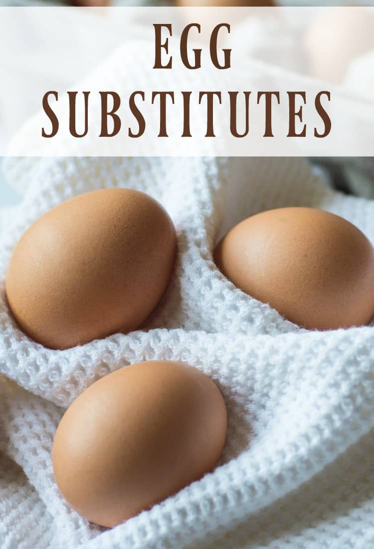 Eggs are great, don't get me wrong! But sometimes you need an egg substitute when you suddenly run out or you need a vegan dish. #eggs #eggsubstitutes #substitutes #vegan #eggfree