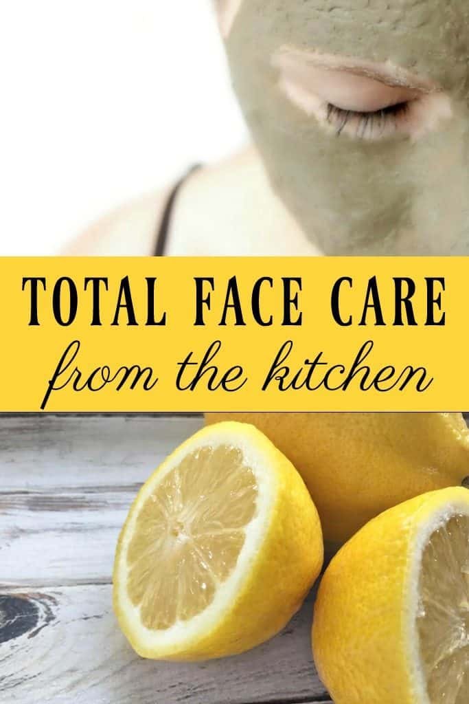 Don't reach for some toxin filled products, go to your kitchen instead. You'll find everything you need for your face inside your pantry. Total Face Care from the Kitchen!