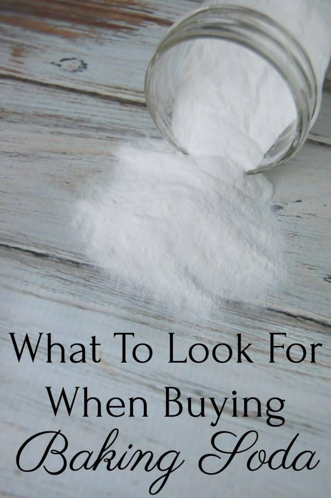 All baking sodas are aluminum free these days but you'll want to find out what to look for when buying baking soda! #bakingsoda #betteroption #naturalhealth #realfood