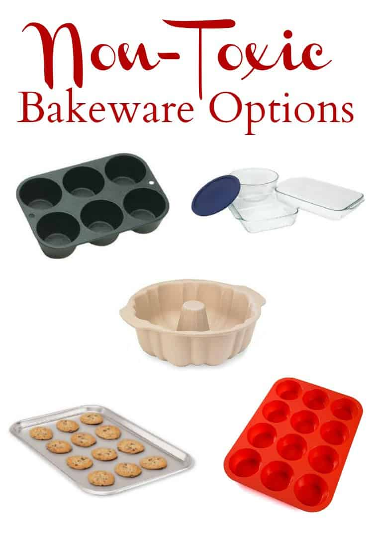 No need to worry about toxic chemicals leaching from your bakeware with these Non-Toxic Bakeware Options