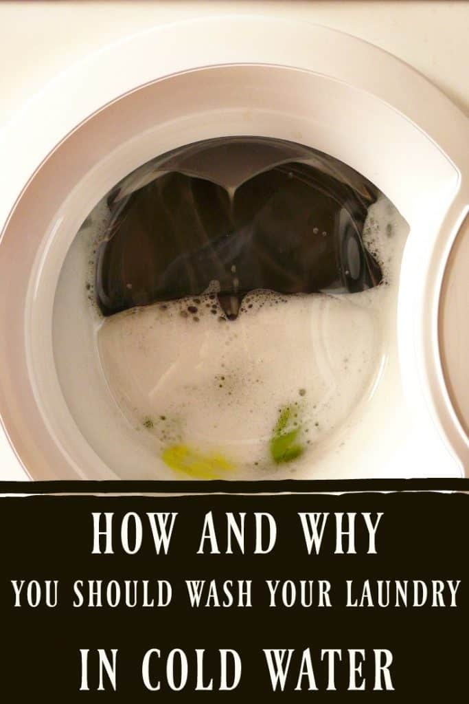 Learn How and Why You Should Wash Your Laundry in Cold Water! This will change your laundry days and save you tons of money! #greenliving #laundry #coldwater