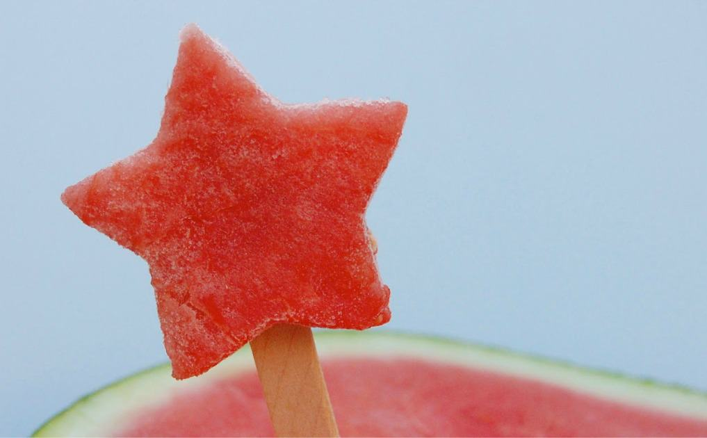 Frozen Watermelon Pops