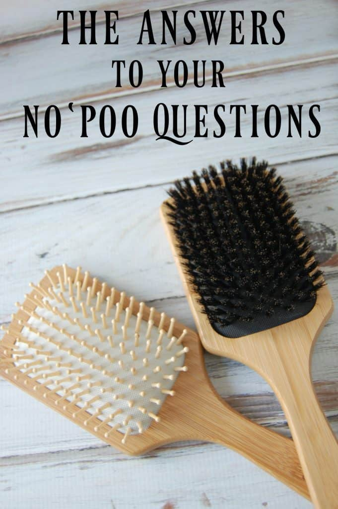 No 'Poo FAQ - All the answers to your no 'poo questions.