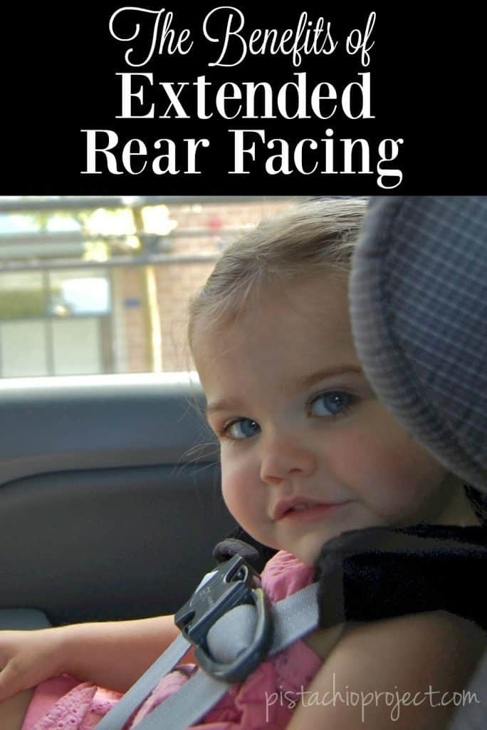The Benefits Extended Rear Facing - Did you know that Kids who continue riding rear facing from just ages 1 – 2 years are 5 times safer than their forward facing friends? #rearfacing #extendedrearfacing #carseats #carseatsafety #kids #infants #babies
