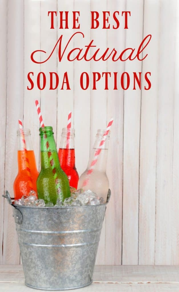 Soda is an unhealthy beverage of choice but sometimes we just aren't ready to give it up completely? The solution? Here's the best natural soda options!