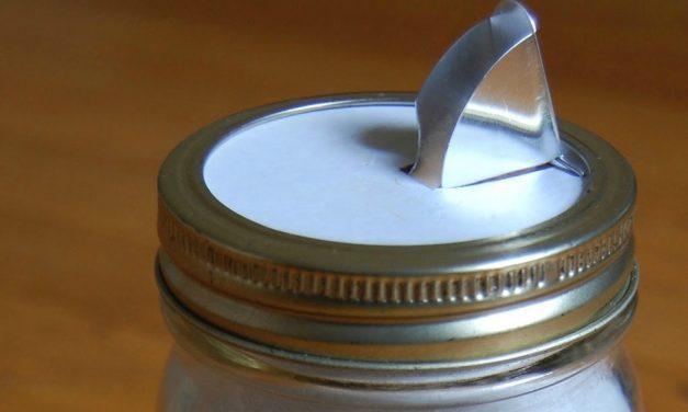 DIY Canning Jar Pour Spout