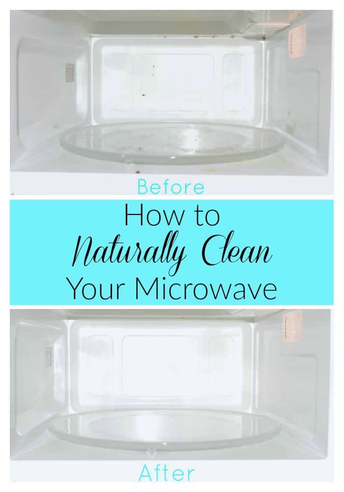 How to Naturally Clean Your Microwave