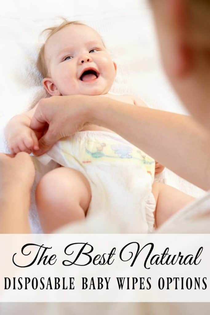 Not everyone wants to use cloth wipes and even those who do use cloth have to use disposable wipes once in awhile. Here are some of the best disposable baby wipes options! #babywipes #ecobaby #greenbaby #natural #nontoxic #babyguide #disposablewipes