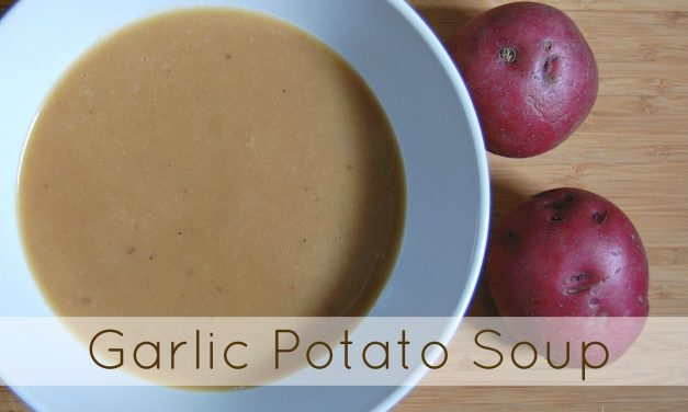 Garlic Potato Soup