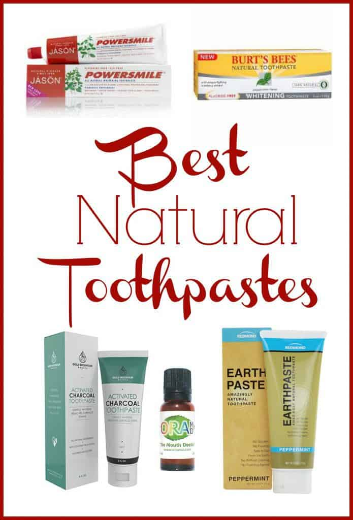 Want a non-toxic toothpaste but can't go the homemade route? Here are some of the best natural toothpastes that you can buy!