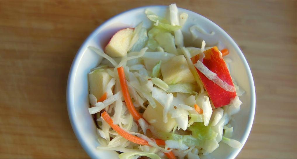 Crisp Apple Coleslaw