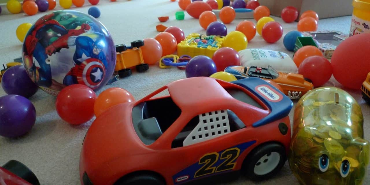 How to Get Rid of Plastic Toys