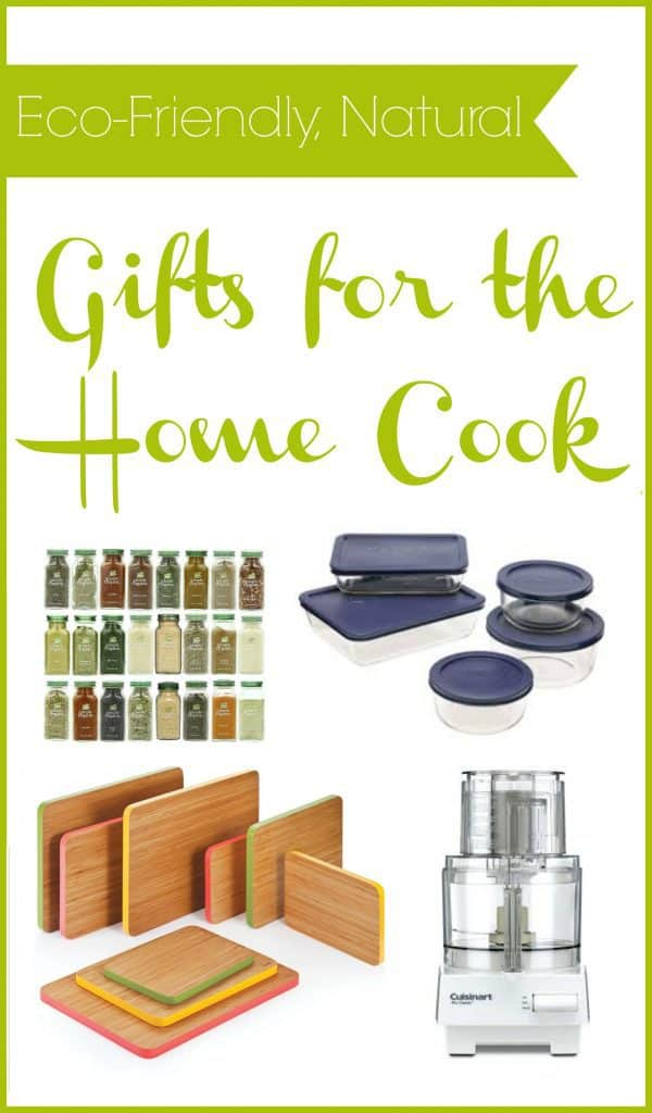 Great natural gift ideas for the home cook. This gift guide is perfect for anyone on your list who loves to cook! #giftguide #giftideas #homecook #kitchengift #ecofriendly #natural
