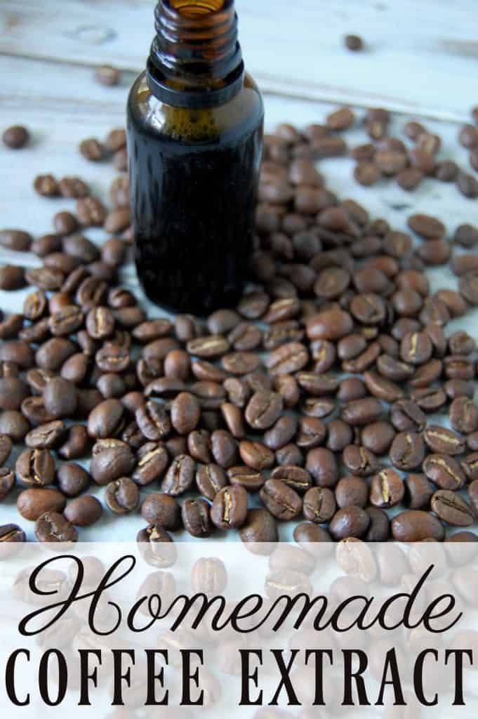 When it comes to coffee ice cream, frappuccinos, or baked goods coffee extract is a very useful ingredient!