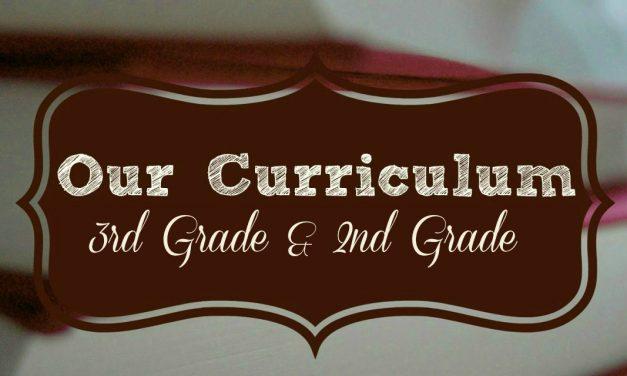 Homeschool Curriculum 2014-2015