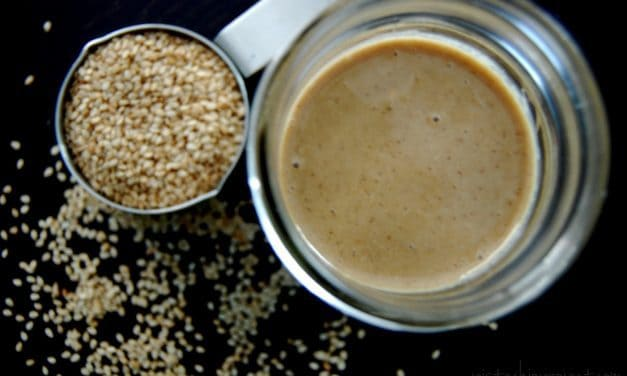 Homemade Tahini