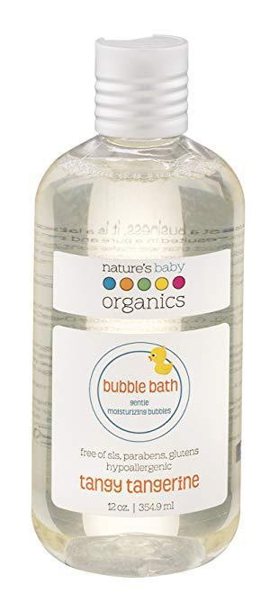 nature's baby organics bubble bath