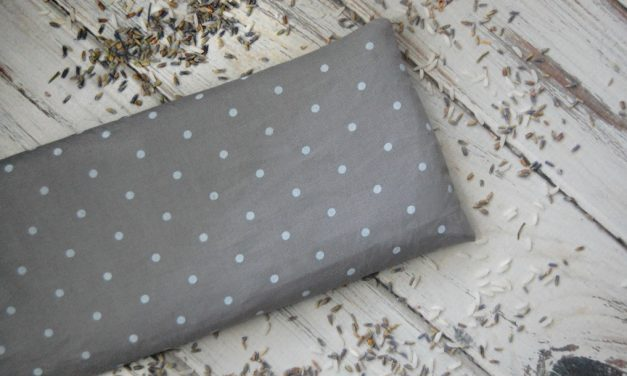 DIY Aromatherapy Rice Bag