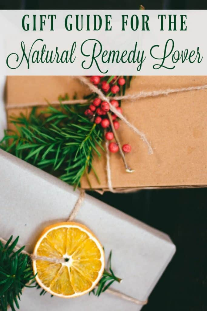 Gift Guide for the Natural Remedy Lover
