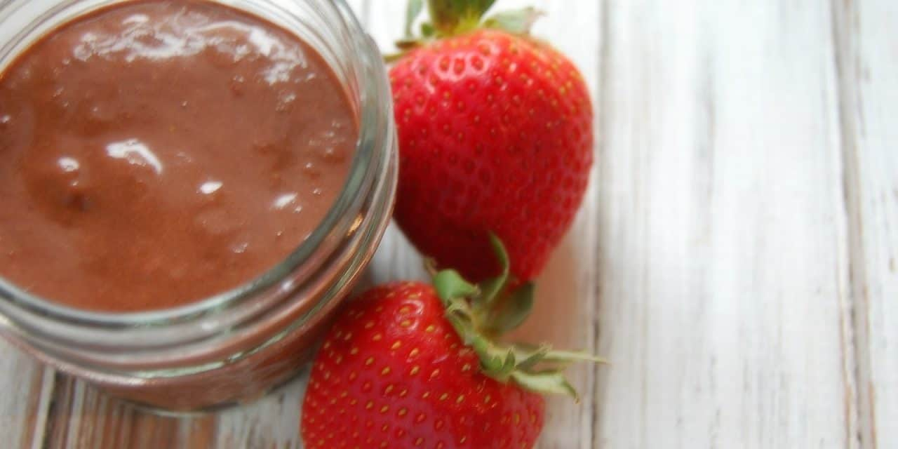 Chocolate Covered Strawberry Face Mask