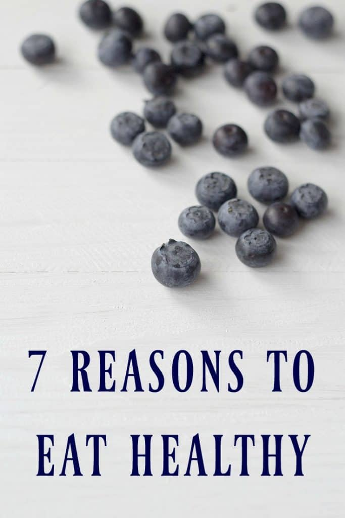 There are more reasons to eat healthy than just loosing weight or staying healthy... Here are 7 reasons to eat healthy!  #healthyeating #cleaneating #realfood #healthy
