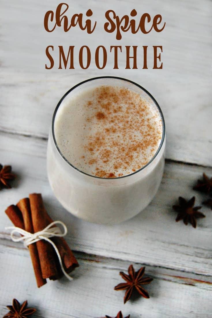 Chai Spice Smoothie