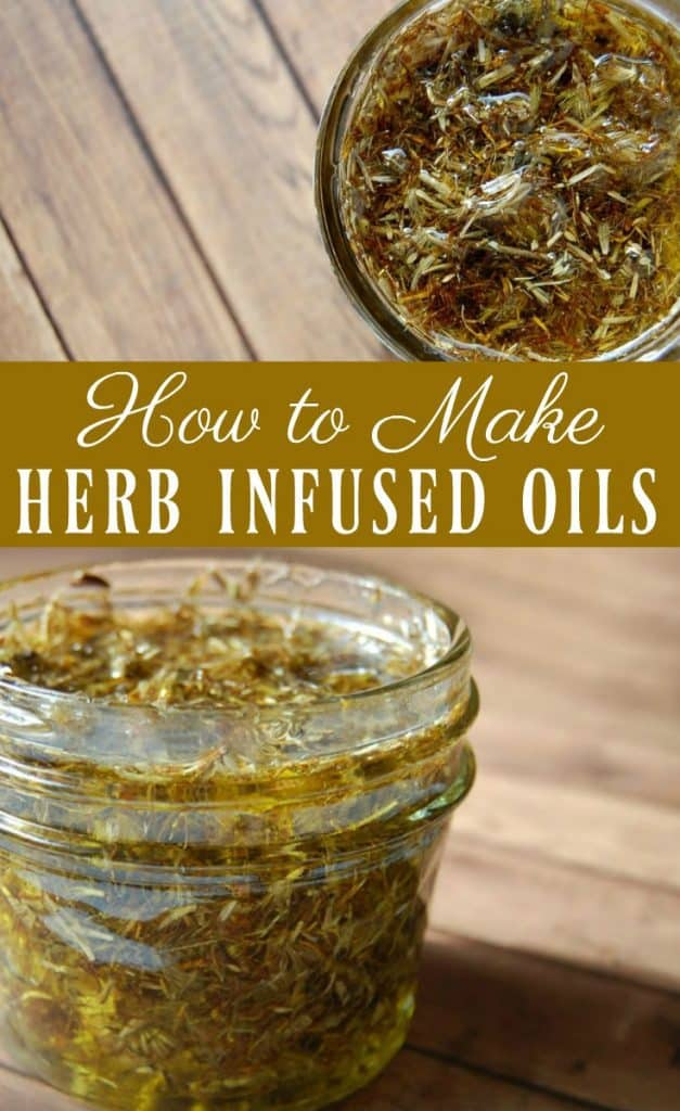 Infusing oils are a great way to use herbs for cooking but herb infused oils are amazing for medicinal purposes! The types of herbs you use will naturally results in different infused oils. This opens up so many possibilities and many different remedies can be made but all infused oils use the same basic methods when being made. Learn how to make herb infused oils. #herbal #herbalremedies #infused #oil #herbalism #naturalremedies