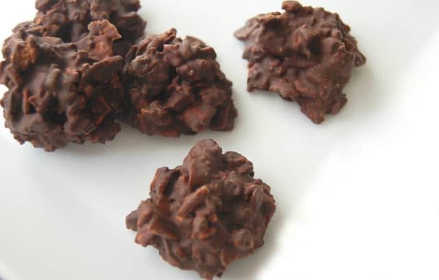 Chocolate Espresso Coconut Haystacks