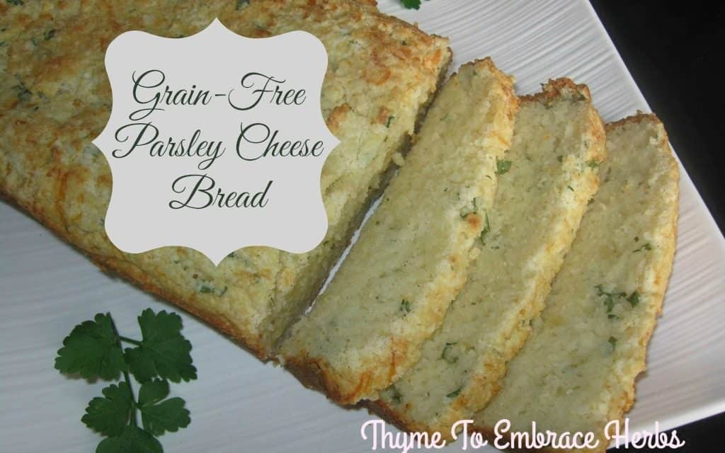 Grain-Free Parsley Cheese Bread