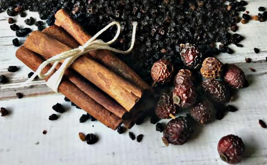 elderberry syrup plus ingredients