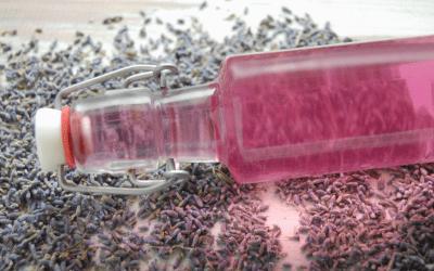 Calming Lavender Vinegar Hair Rinse