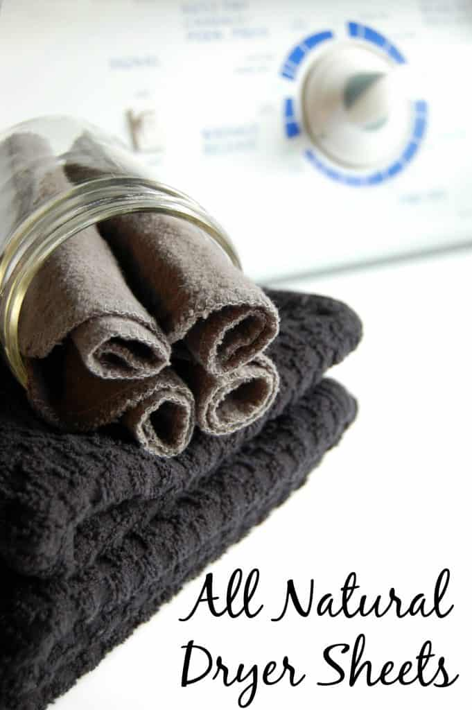 All Natural Dryer Sheets - Finally going to ditch those toxin full store bought dryer sheets and start making my own! Just 2 ingredients! #dryersheets #essentialoils #naturalhome #nontoxic #homemade #ecofriendly #reusable #laundry