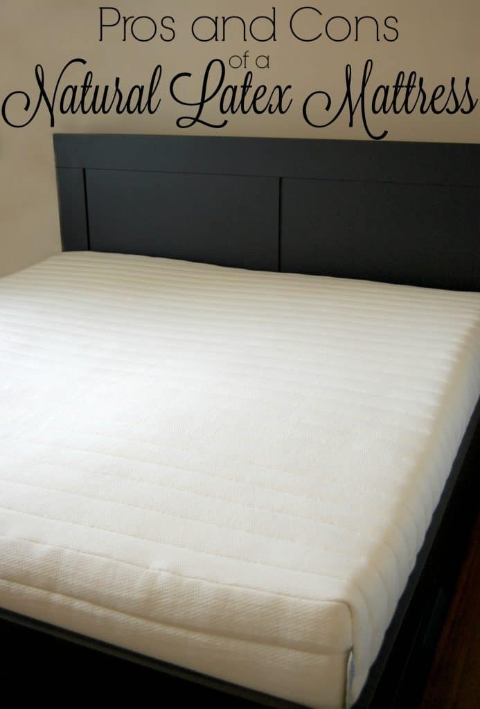 Pros and Cons of a Natural Latex Mattress - Learn the differences between natural and synthetic latex. Find out what the advantages of a natural latex mattress are and where to buy a 100% natural latex mattress that's affordable!