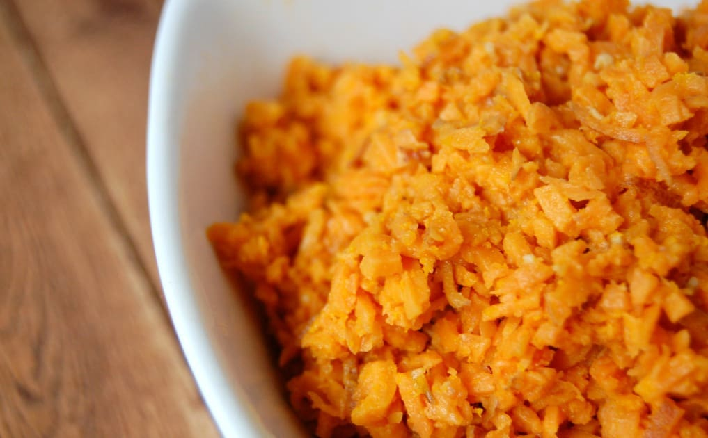 "Sweet Potato ""Rice"""