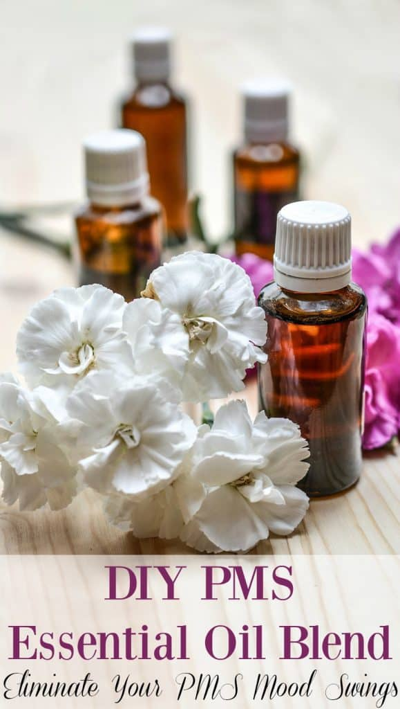 DIY PMS Essential Oil Blend - Don't let PMS run your life! Take action and make this DIY PMS essential oil blend today. Happier periods are just around the corner.