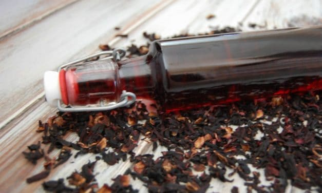 Hibiscus Vinegar Hair Rinse for Smooth and Shiny Hair