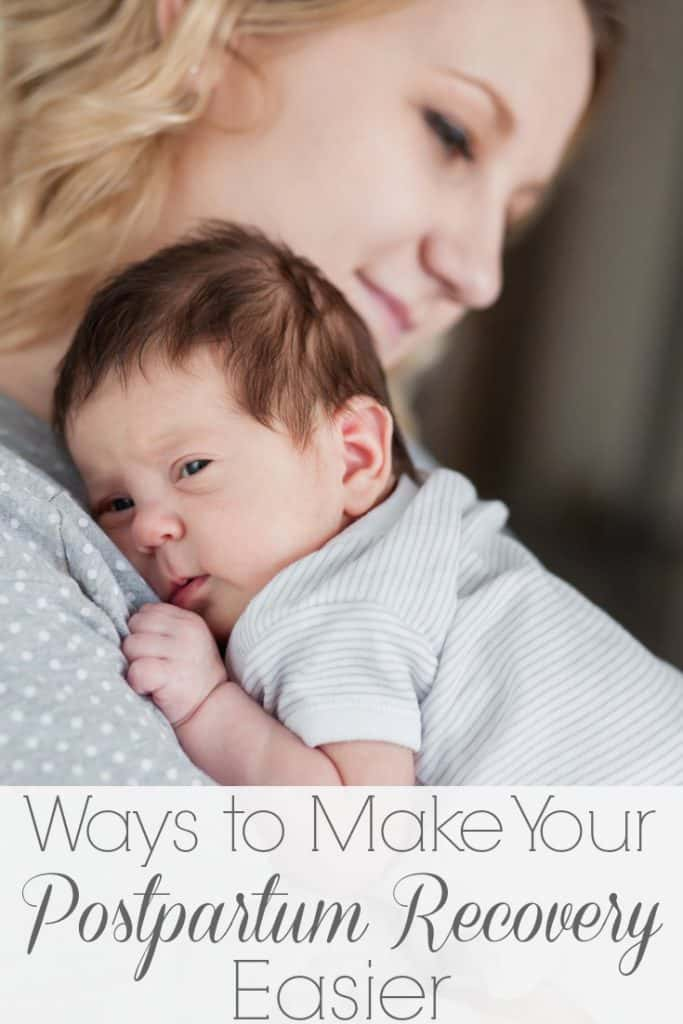 You are all prepped and ready for baby to arrive.. but don't forget about you, mama! You'll want to read these ways to make your postpartum recovery easier!!!