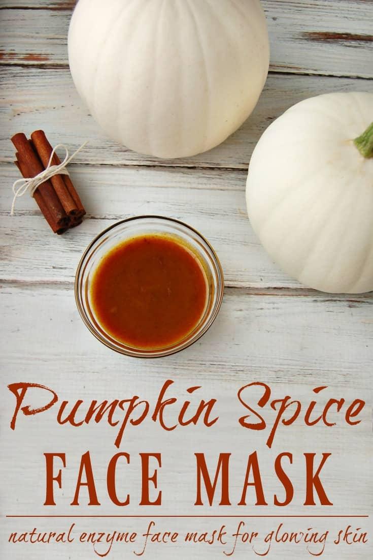 Pumpkin Spice Face Mask