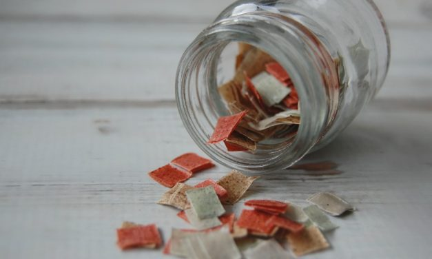 DIY Herbal Bath Confetti