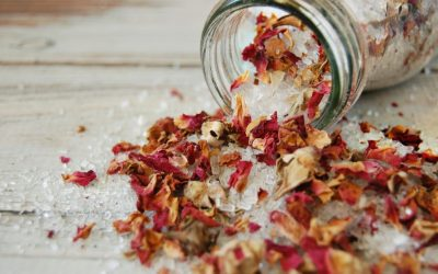 Rose Cardamom Bath Salts