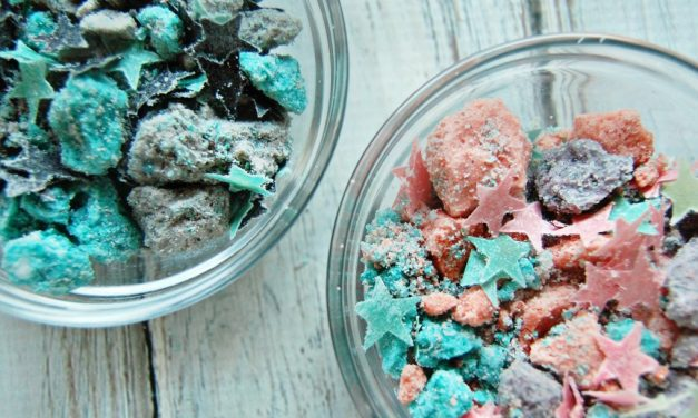 DIY Fizzy Bath Dust