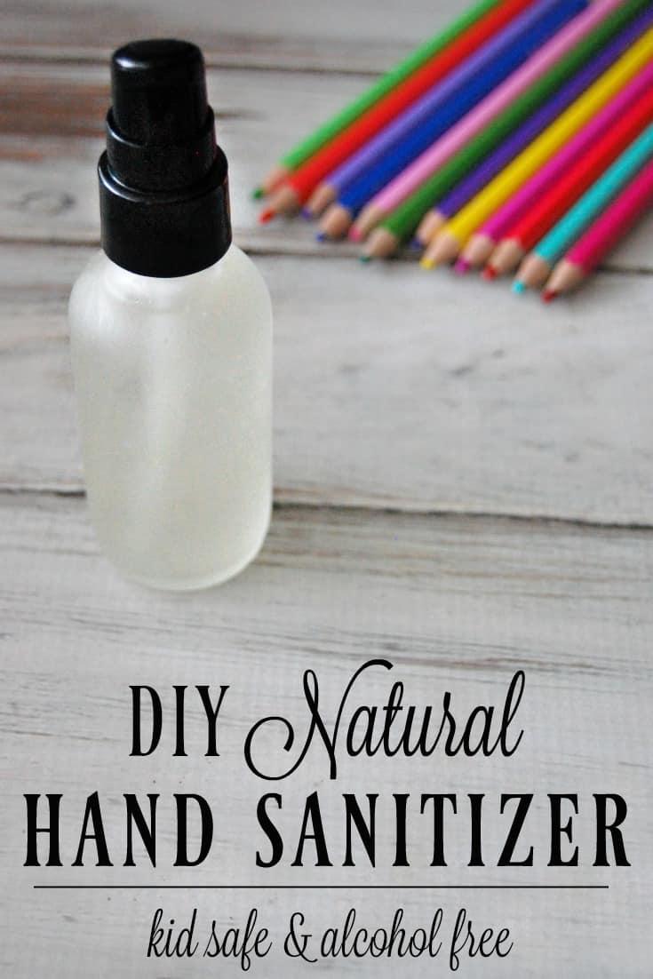 DIY Natural Hand Sanitizer