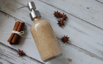 DIY Chai Spice Liquid Soap