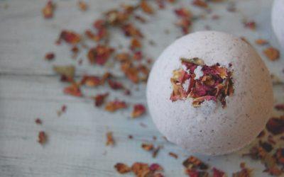 Rose Cardamom Bath Bombs
